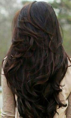 40 Best Long Layered Haircuts More Looking for the best long layered haircuts for a fresher look? In our gallery you will find the best images of Best Long Layered Haircuts that you may want Layered Thick Hair, Brown Wavy Hair, Long Layered Haircuts, Long Wavy Hair, Long Hair Cuts, Layered Hairstyles, Braid Hairstyles, Dark Hair, Fancy Hairstyles