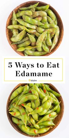 Edamame may be your warm-up before a sushi dinner, but its best role is as a snack-time superstar.