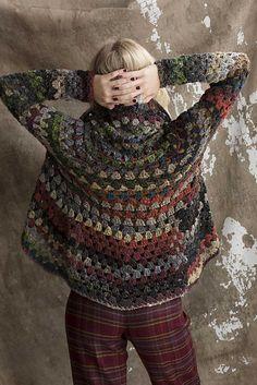 Diy Crafts - -Ravelry: 9 Crochet Jacket pattern by Jenny King Crochet Jacket Pattern, Crochet Coat, Crochet Cardigan Pattern, Crochet Shawl, Crochet Clothes, Crochet Patterns, Sewing Patterns, Crochet Sweaters, Knitting Patterns