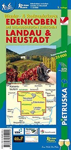 Edenkoben, Landau & Neustadt: Wander- und Radwanderkarte Einer unserer besten Karten