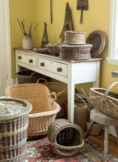 Traditional baskets | Period Living