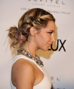 Ashley Tisdale-- cute hairstyle