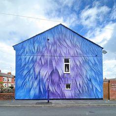 Adele Renault @ New Brighton, UK New Brighton, Adele, Bricks, Artist, Painting, Instagram, Brick, Artists, Painting Art