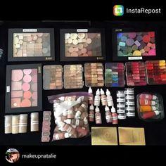 "123 Likes, 2 Comments - Vueset (@vueset) on Instagram: ""cool, and conensed! @makeupnatalie #vueset #OrganizeYourMakeupKit #mua#proemptymakeuppalettes…"""