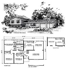 Split Level House Plans Three Bedroom Split Level