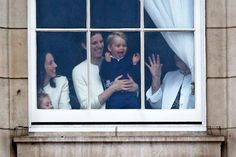 Pin for Later: Prince George's Sweet Grin Might Just Be Better Than His Unimpressed Faces