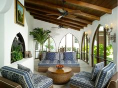 Mediterranean Sun Room