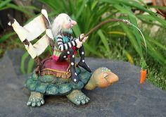 Lente et régulière remportent la course OOAK Art Doll