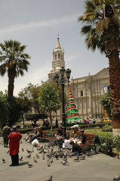 Arequipa, Peru - BEAUTIFUL!!! reminds me of the country side.