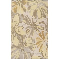 Shop for Surya ATH5071-912 Athena 9' x 12' Rectangle Wool Hand Tufted Floral Area Rug - Green. Get free shipping at Overstock.com - Your Online Home Decor Outlet Store! Get 5% in rewards with Club O! - 24850724