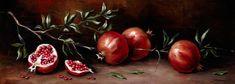 Κλαδί Ροδιάς Pomegranate, Vegetables, The Originals, Inspiration, Home Decor, Art Ideas, Paintings, Decoration, Image