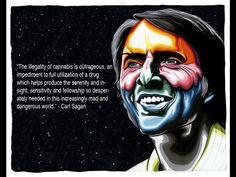 Marijuana - Drugs - Carl Sagan  Freedom of consciousness