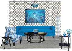 """""""Blue room"""" by gjl-style on Polyvore"""
