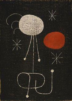 Joan Miró, Woman in Front of the Sun, 1944. on ArtStack #joan-miro #art