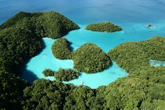 Hiding in the open, somewhere north of Indonesia and east of the Philippines, is the tiny island nation of Palau. Because of its isolation, Palau doesn't receive anywhere near the number of visitors that other Pacific Islands receive each year.