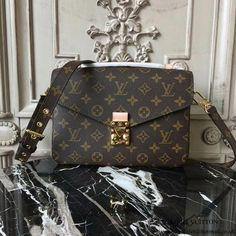87783a096a71 Louis Vuitton M40780 Pochette Metis Crossbody Bag Monogram Canvas   Louisvuittonhandbags Louis Vuitton Brown Bag