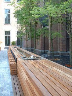 Choorstraat – Papenhulst by Buro Lubbers « Landscape Architecture Works Contemporary Landscape, Urban Landscape, Landscape Design, Garden Design, Outdoor Landscaping, Outdoor Gardens, Outdoor Decor, Landscaping Rocks, Habitat Groupé