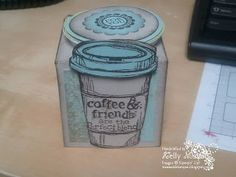 card sampl, cup holder, the weekend, k cups, weekend stamper, new friends, friend gifts