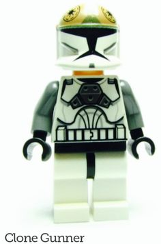 Lego clone gunner mini figure set 8039 Star Wars clone wars storm trooper   SEE COMMENTS FOR EBAY LINN