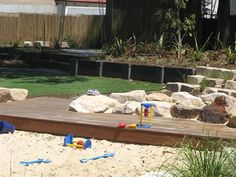 water-play and sandpit: second angle