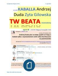 W Niemczech informują odpowiednio wcześniej o zakończeniu udostępniania darmowej przestrzeni w sieci, żeby można sobie zabawki pozabierać http://www.webnews.de/mitglied/sowa/   Andrzej Duda pies na baby spadł na 4 łapy a kabała tylko z wystawianiem córki Julka Kornhausera na pośmiewisko https://de.pinterest.com/pin/452752568771129956/    przecieki KABALLA Andrzej Duda Zyta Gilowska TW BEATA nieswiadomy agent SB webnews .de mitglied sowa 20160405 Magazyn Europejski SOWA