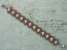 Linda's Crafty Inspirations: Bracelet of the Day: Esther Silky Bracelet - Lila Luster