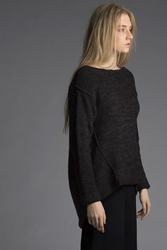 """Shibui Grain,"" by Kirsten Johnstone, knit in Shibui Pebble and Baby Alpaca."