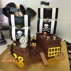 pirate ship cake nz - Google Search Pirate Ship Cakes, Cake Cookies, Birthday Cakes, Pirates, Google Search, Anniversary Cakes, Birthday Cake, Birthday Cookies, Donut Birthday Cakes