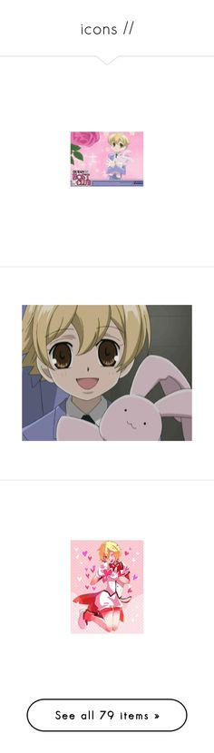 """""""icons //"""" by toby-senpai ❤ liked on Polyvore featuring ouran high school host club, anime, sdr2, art, filler, manga, sherlock, free, accessories and hair accessories"""