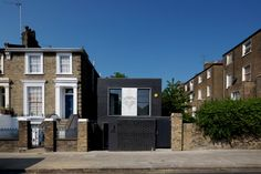 The Shadow House, Camden, United Kingdom  A project by: Liddicoat & Goldhill Architecture