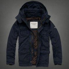 Jack /& Jones-Poul fishtail Parka-chaqueta-caballeros-nuevo