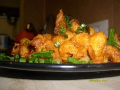 Gobi Manchurian made my me and my GF - recipe from www.sailusfood.com