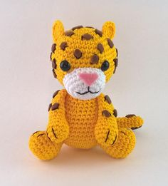 Jaguar Amigurumi Pattern Brazilian Jungle Friends