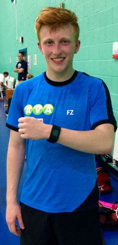 Matt Clare is currently the European U17 badminton doubles champion, & a member of the England junior squad