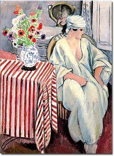 Méditation – Après le bain, Henri Matisse, 1920