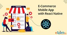 In today's world, when humans attached to smartphones, it becomes necessary to provide the applications which they can use to shop on your website. You can easily add views to display your product and stack navigators to move from one View to another. Many functionalities can be easily added as various packages are available. React Native, Types Of Buttons, Mobile Application, Starter Kit, Homescreen, Ecommerce, Nativity, Smartphone, Display