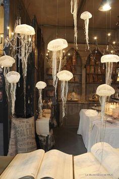 Maison et Objet Paris - Boca Do Lobo Home Decor Trends, Home Decor Inspiration, Decor Ideas, Home Decor Accessories, Decorative Accessories, Ideas Sorpresa, Vitrine Design, Jellyfish Lamp, Deco Marine