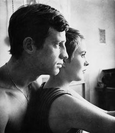 Jean-Paul Belmondo and Jean Seberg in A Bout De Souffle, Jean-Luc Godard, 1959