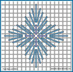 17 Leaf Stitch Variations for Needlepoint