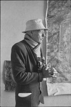 Pierre Bonnard. Photo: Henri Cartier-Bresson, 1944.