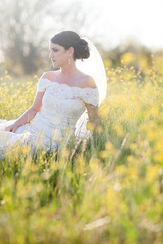 Austin Wedding Photographer, Bridal Portrait, Natural Light Photographer, Field Bridal pictures, Country Wedding photos  (c) Lahra Bryant Photography www.lahrabryant.com