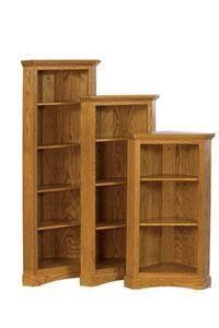 Corner Book Shelves Chimney Bookcase 3