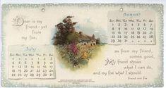 SCHILLER CALENDAR FOR 1897. ..♥..Nims..♥