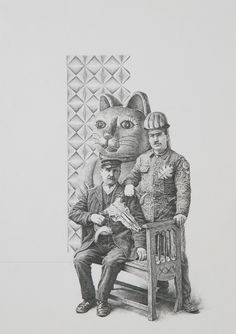 Fusiliers (scene XXV) | Greg Gilbert - Pencil