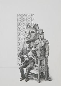 Fusiliers (scene XXV)   Greg Gilbert - Pencil