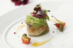 Shellfish Terrine, Mix Green Salad, Lemon Dressing, Italian Food, Beijing Italian Restaurant, Beijing