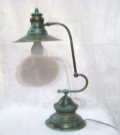 Brass Articulating Arm Lamp from Vagabund New Desk Bedroom Office   eBay