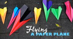 Create this paper planes for your transportation unit.