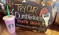 #Starbucks exclusive #HarryPotter drinks this week! Come try them out and come…