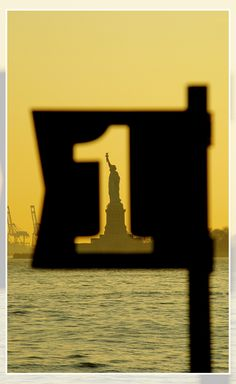 Statue of Liberty from Battery Park - NYC Nyc, Gotham, Battery Park, I Love Ny, City That Never Sleeps, Concrete Jungle, Street Photography, Color Photography, Land Art